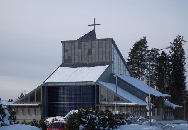 Kirken sett fra øst